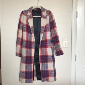 Zara Multicolored Winter Coat